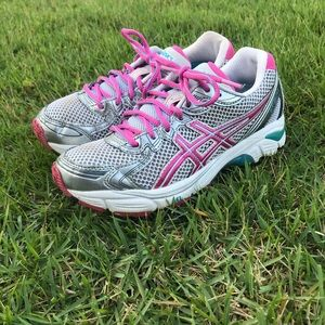 ASICS GT-2170 Womens shoes Sz 5 grey/pink